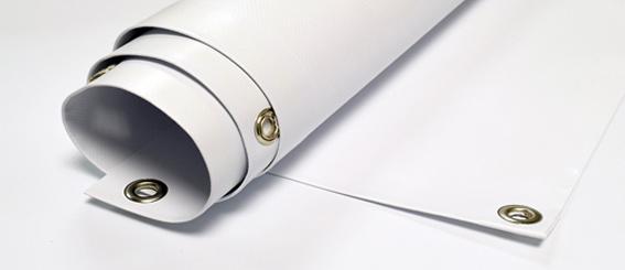 Stampa digitale su banner in pvc con occhielli telo in pvc con occhielli