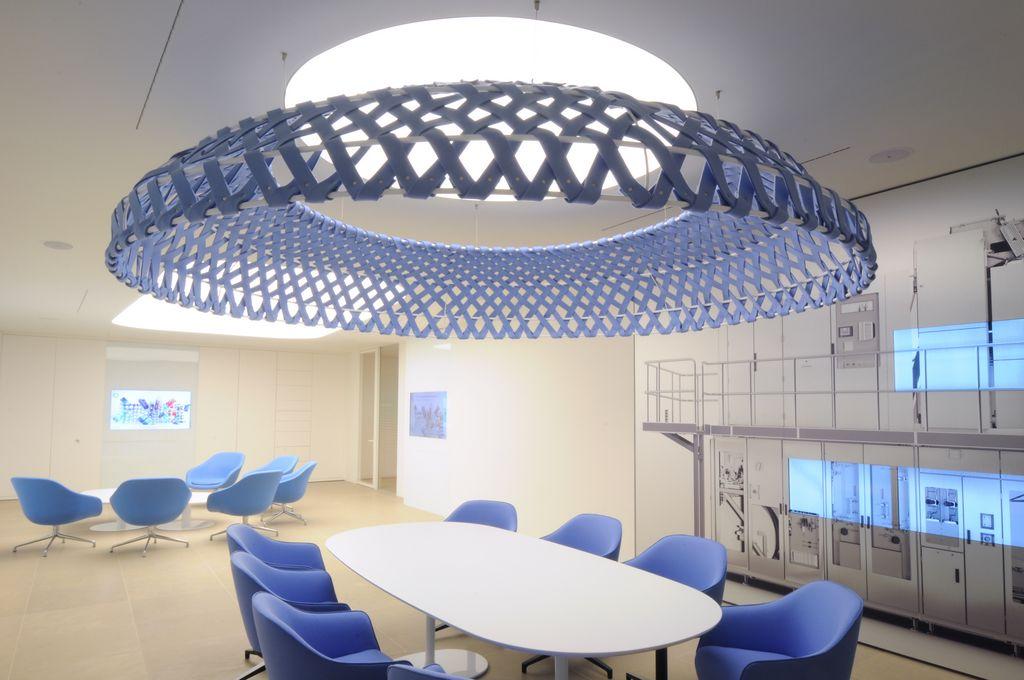 Logo Pubblicità decorazione murale interior design riunioni