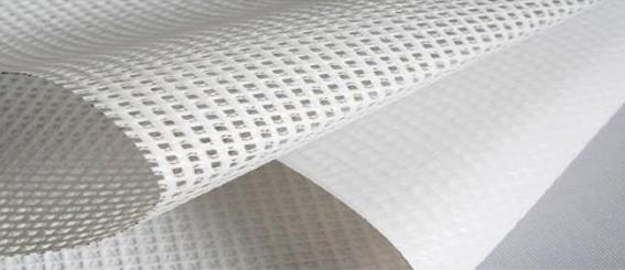 Stampa digitale su PVC mesh