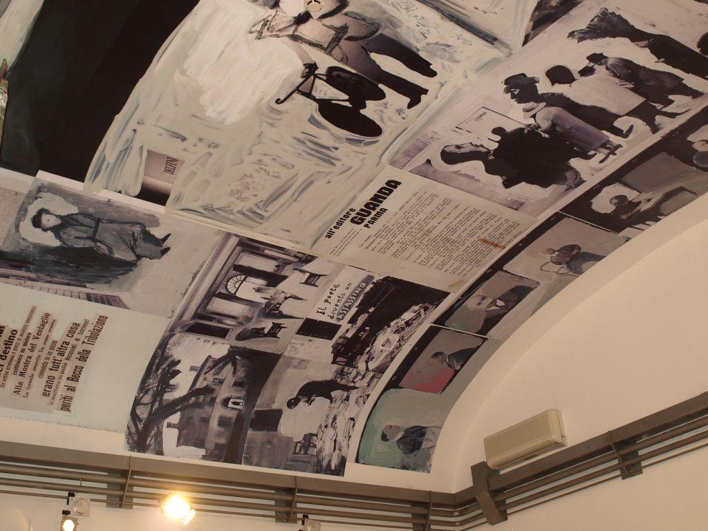 Biblioteca Delfini – Affresco di Toccafondo